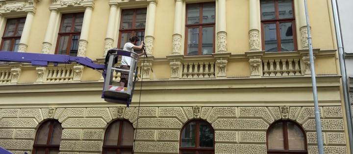 údržba fasády
