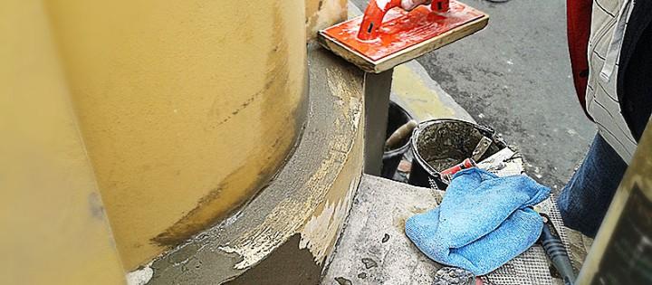 opravy fasad hl.