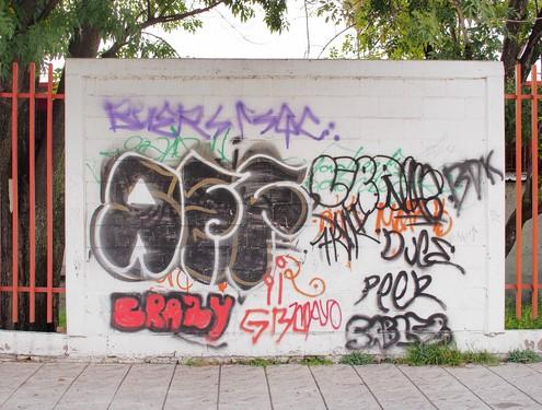 Odstranění graffiti